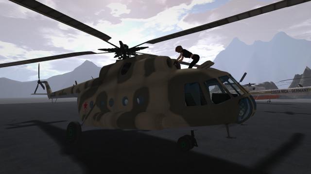 Mi-8 repair