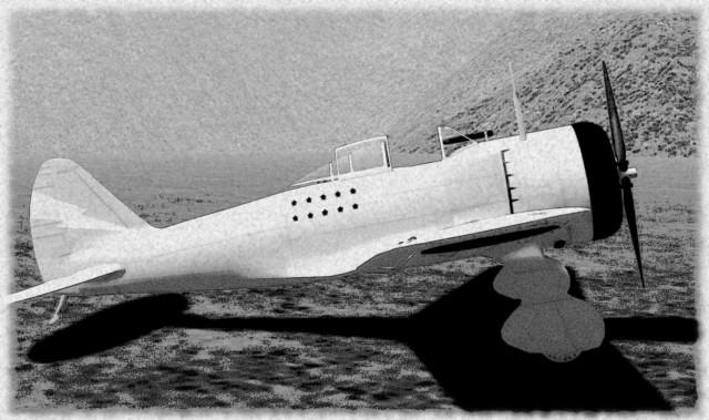 Ki-27fighter