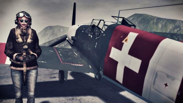 Bf-109 E4_004swiss