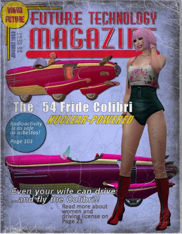 future magazine cover